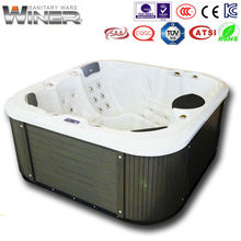 outdoor spa AMC-2000B china hot tub with 4 persons
