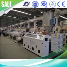 Plastic pipe production line/PP/PE/PPR pipe macking machine