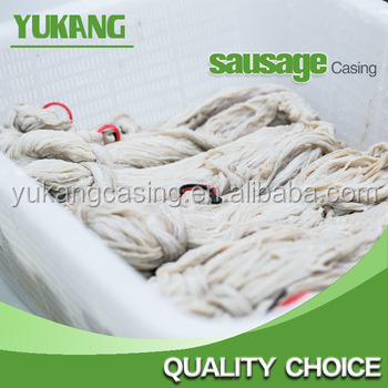 factory wholesale 90meters bundle salted sheep casing 18/20 AB with 2m/+