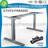 Office furniture Electric standing desk frame & healthy electric height adjustable working table frame for sale