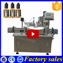 Brand new technology 30ml ecig oil filler and capper, 60ml e-liquid filling packing machine