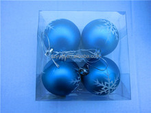 New wholesale glass christmas ball ornaments