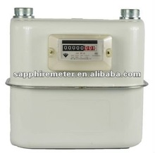 G6S Sapphire Diaphragm Commercial Industrial Steel Case Gas Meter