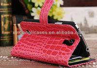 Crocodile Skin Luxury Leather Wallet Case for Samsung Galaxy S4 S IV GT- I9500