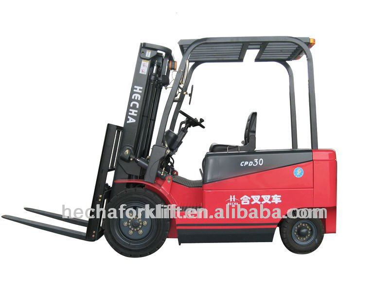 3t battery forklift truck with dc motor