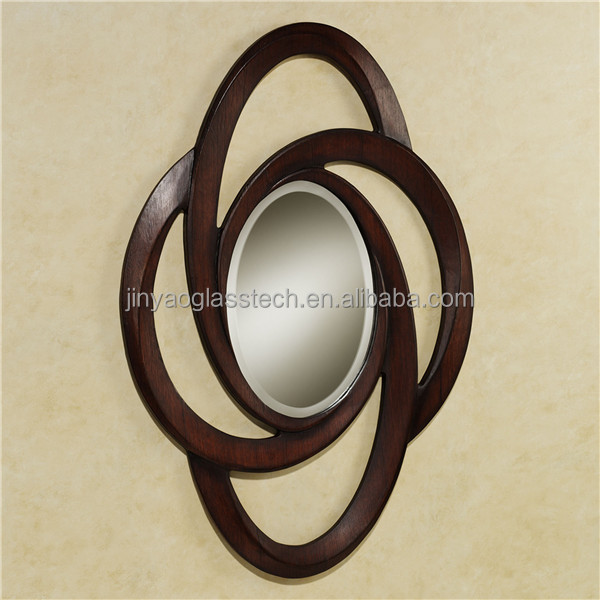 High quality decorative glass 2015 alibaba wholesale for Inexpensive framed mirrors