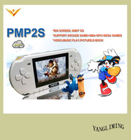 Retro handheld game console PMP2S games of desire support Acrade/GBA/ SEGA
