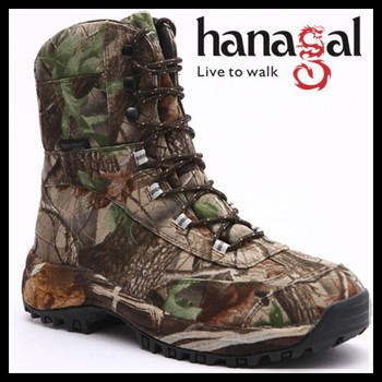 Cheap price camo waterproof hunting boot anti-slip jungle outdoor boot