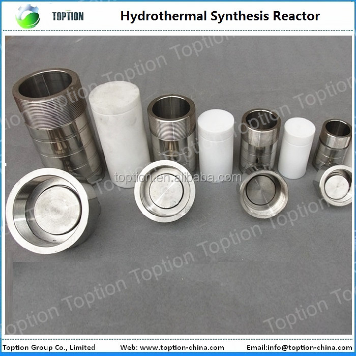 100ml,Teflon lined Hydrothermal Synthesis Autoclave Reactor,PTFE lined vessel