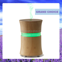 Mini Nature Wood Ultrasonic Home Aroma Humidifier Air Diffuser Purifier