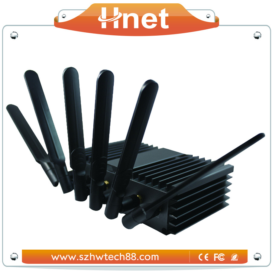 Industrial 3G 4G wifi advertising router wifi hotspot for bus station, shopping mall, supermarket, bus advertising publish