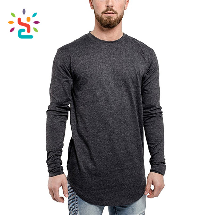 Fashion tee 90% polyester 10% spandex plack t shirt oversized longline short sleeve hooded t shirt for men plain t shirts