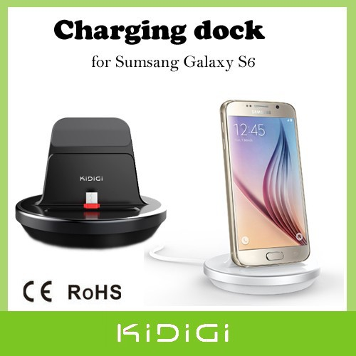 Omni Case Compatible charging dock desktop cradle charger for Samsung Galaxy S6