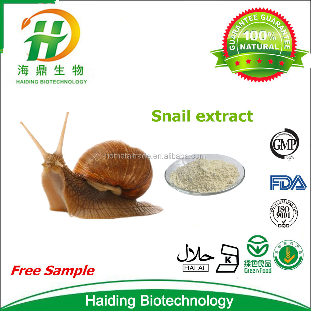 100% Natural Snail Cosmetic Snail Extract