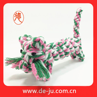 Red green cotton rope fashion cheap dog sex cartoon toy