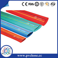 flexible pvc lay flat large diameter pvc pipe for irrigation