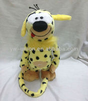 B/O Mechanical Turkey Cartoon Plush Music Singing and Walking Marsupilami
