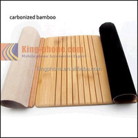 Full carbonized bamboo for ipad wooden cover, curtain case