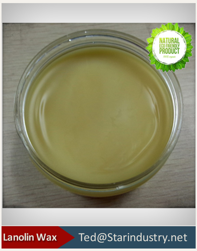 High quality lanolin wax Cas 68201-49-0