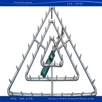 Triangle water fountain can be customize and DIY