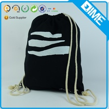 Promotional Custom OEM Cotton Canvas Drawstring Shoe Bag