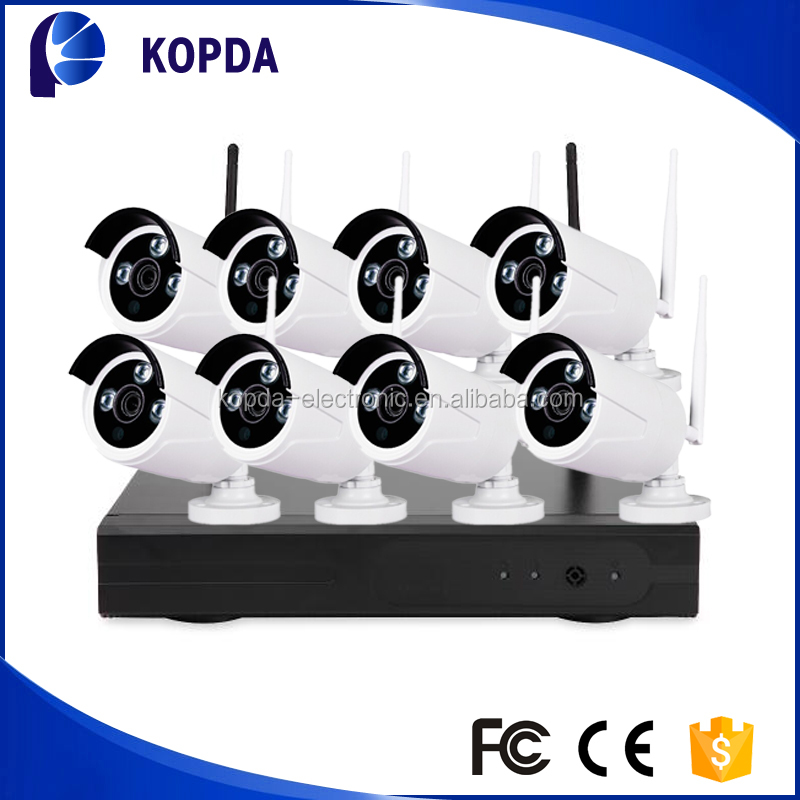 High definition ip67 wifi ip camera with nvr kit