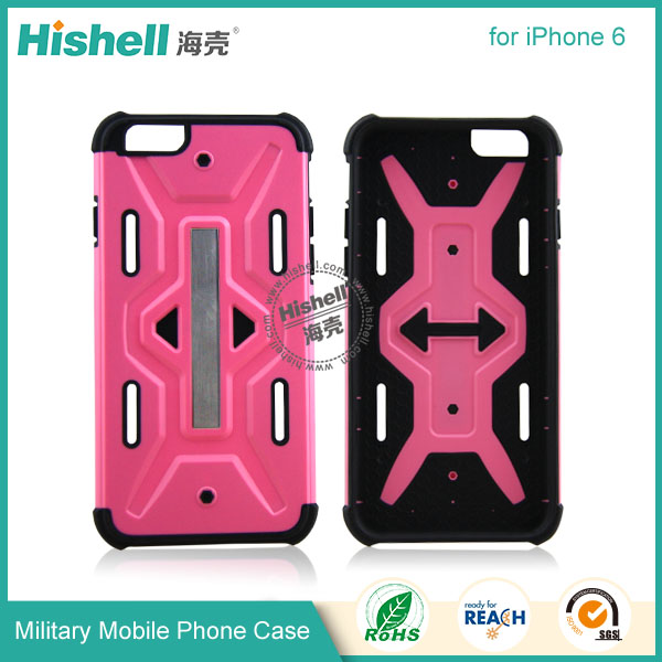 TPU and PC Military Style Mobile Phone Case for iPhone 6