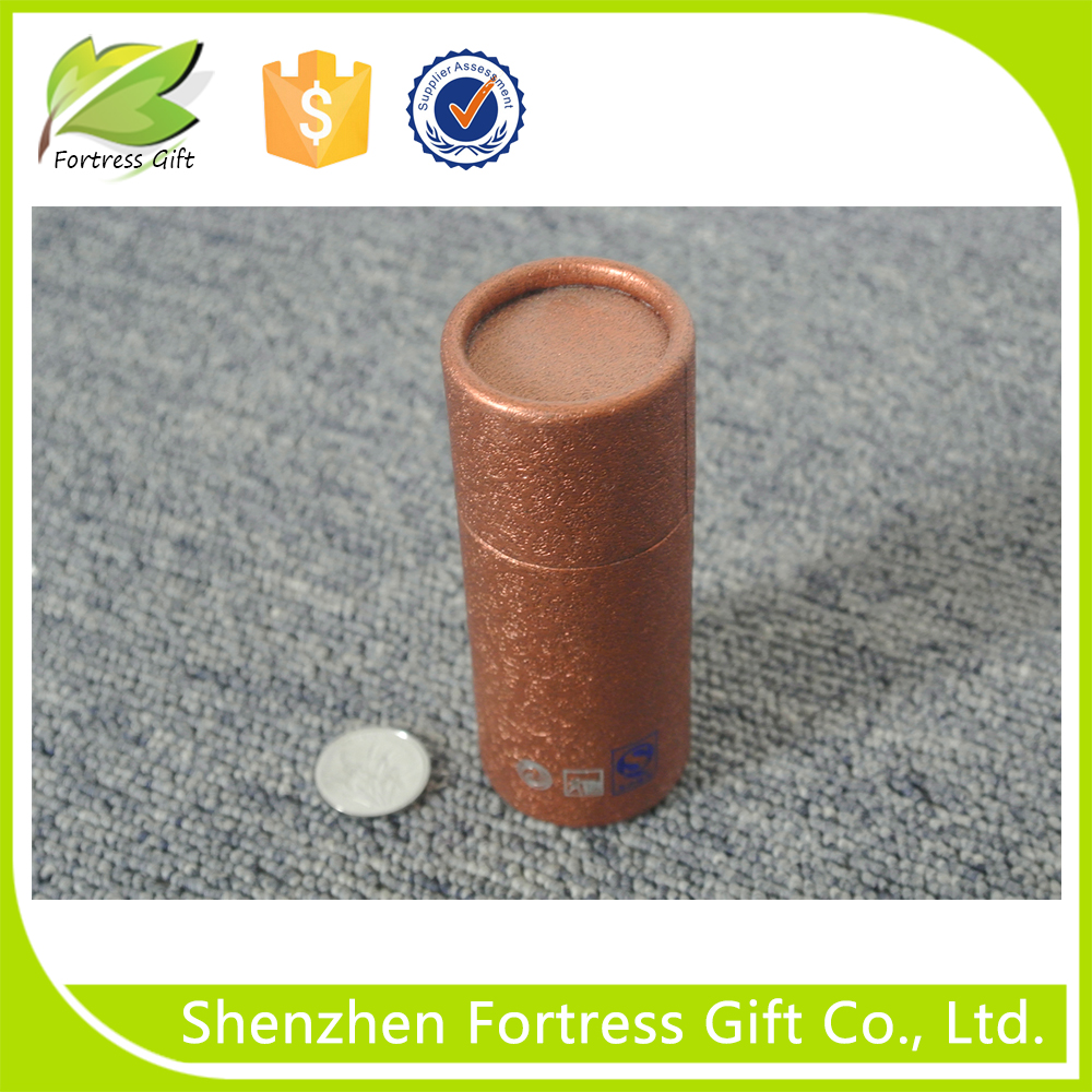 Cylinder Shaped Customized Drawer Texture Paper Tube