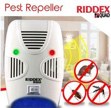 Hot Selling As seen on TV Electro magnetic Sonic Pest Repelling Aid With Night Light Quad