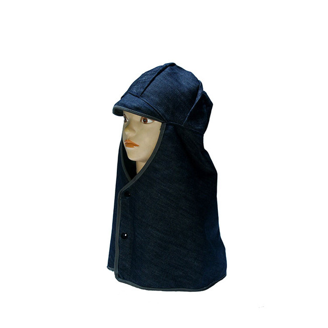 Wholesale alibaba cheapest price airlaid head cover caps with face mask hood