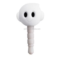 Custom plastic skull dust plug,OEM skull dustproof plug,Skull shaped earphone dust plug wholesale