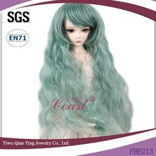 best wholesale beautiful mohair doll wigs for american dolls