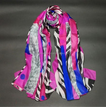 silk style and long style of length silk shawls and scarves