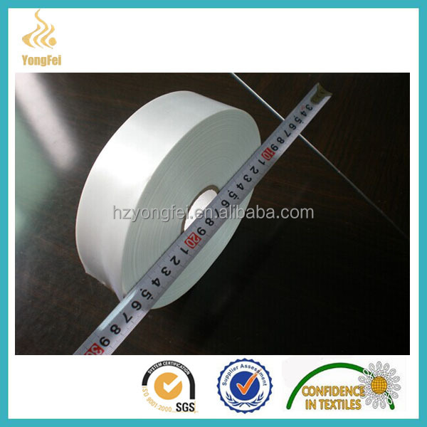 65G Cheap Coated Label Print Taffeta Nylon ribbon
