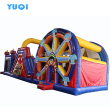 New giant inflatable obstacle course, biggest obstacle course inflatable sport games for adult and kids