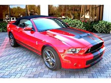 2010 FORD MUSTANG SHELBY COBRA GT500 CONVERTIBLE MINT