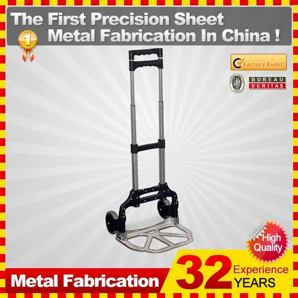 kindle 2014 new durable folding professional customized hotel luggage cart wheels for sale