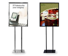 Casting Craftsman.Customized forecourt signs poster stand ,Floor display Standing, Metal Stand