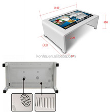 New Design Waterproof 55 Inch Tea/Game/Bar/Coffee Lcd Touch Screen Table