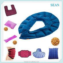 Custom design seeds filled Hot/Cold microwaveable neck shoulder heating pad