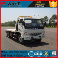 2.5 ton road flatbed towing tractor wrecker truck for sale