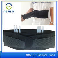 Aofeite Neoprene CE medical lumbar support, pump lumbar support, waterproof lumbar back support