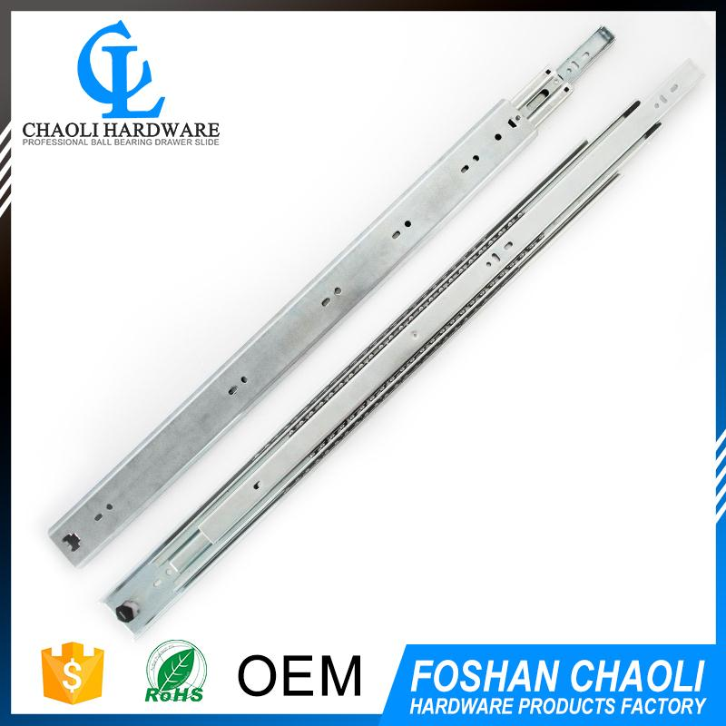 China supplier ball bearing drawer slide channel with high quality
