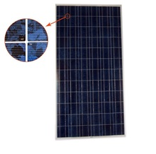2018 Flexible power 250W 300W mono and Poly solar panel with low price good quality