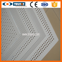 Sound Proof Wood Fiber Reinforced Perforated Gypsum Ceiling Board