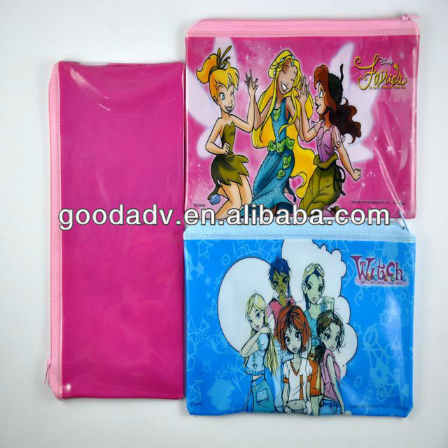 PP/PVC document bag (file holder)with full color print