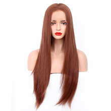 Top quality long straight brazilian remy hair wigs virgin silk top human hair full lace wig