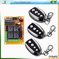 DC 12v 10A relay 4channel wireless RF Remote Control Switch