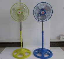 Durable long life small size metal blade pedestal fan