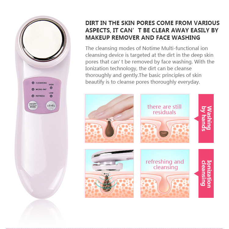 Home use Mini facial electric scrubbing brush